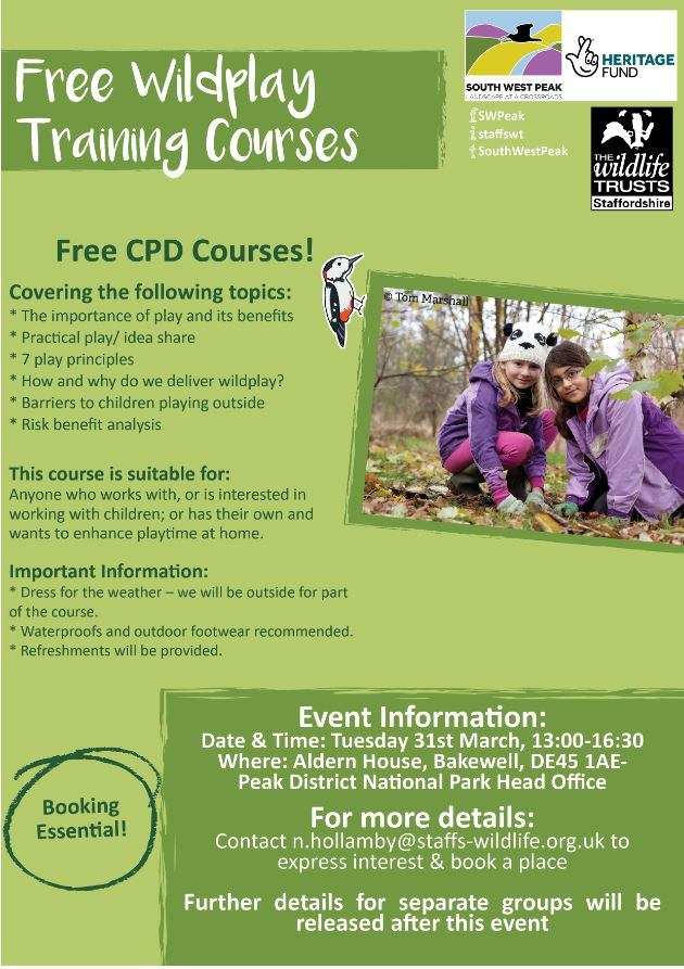 Wildplay Training Courses