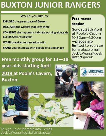 Buxton Junior Rangers Taster Session